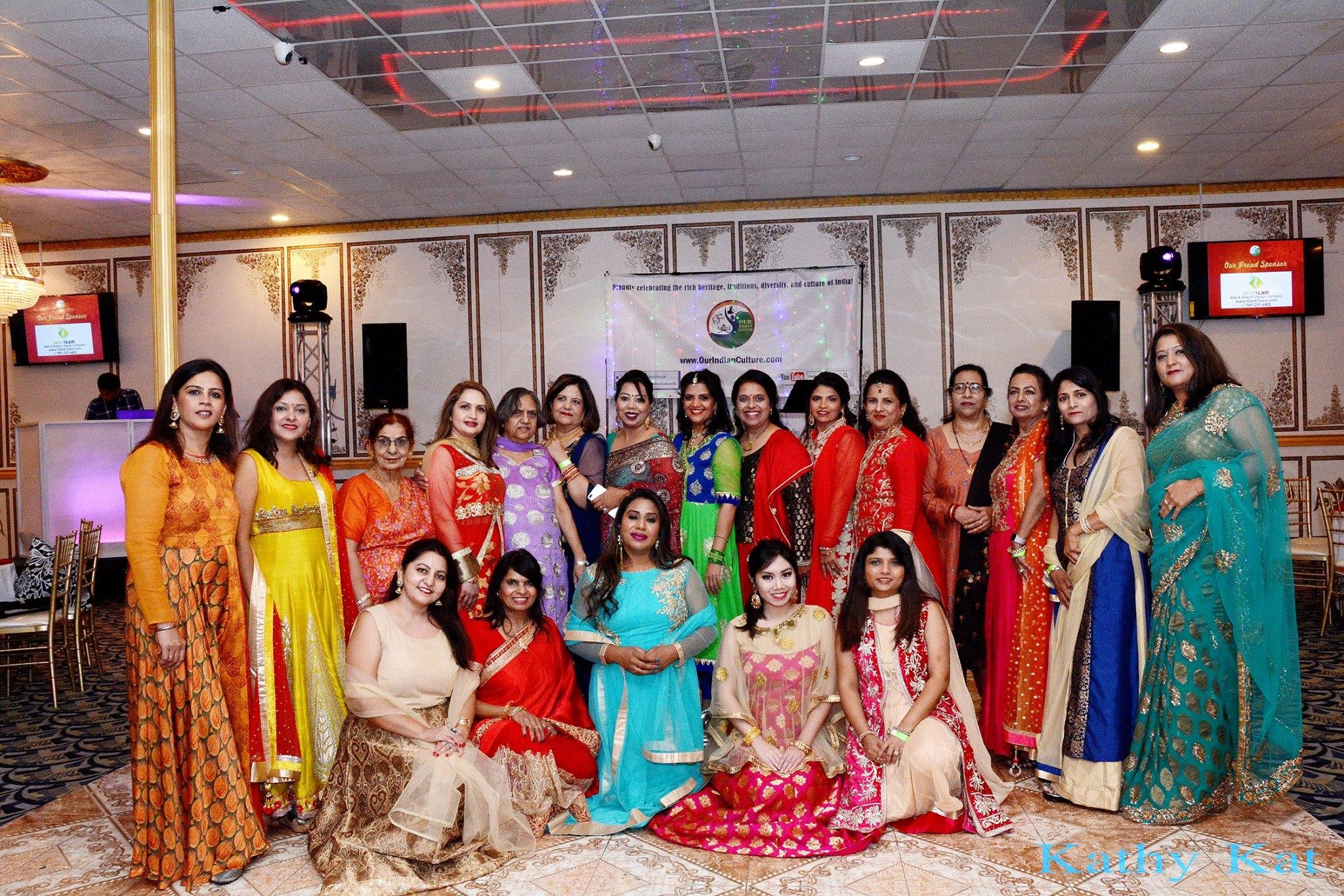 Diwali Party in Lake Forest, Orange County, organized by Our Indian Culture