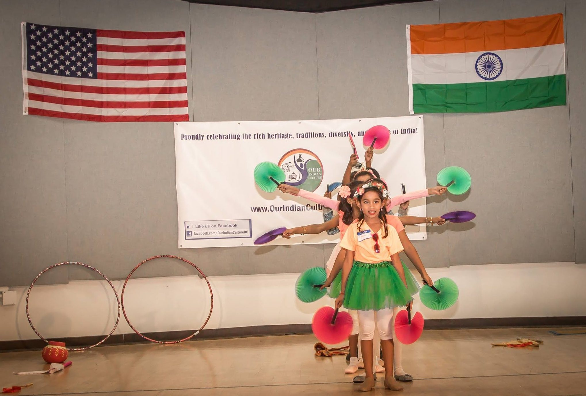 Unity in Diversity Shown at India Indepedence Day Celebration event organized by OurIndianCulture.com