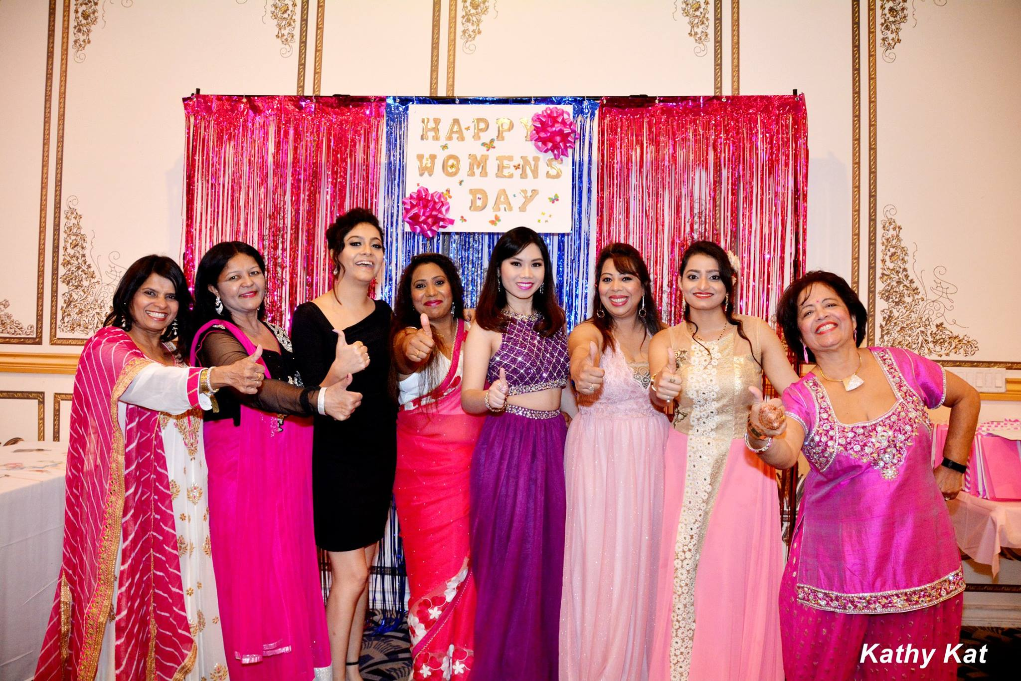 Pretty In Pink - Women Empowerment Gala By OurIndianCulture.com