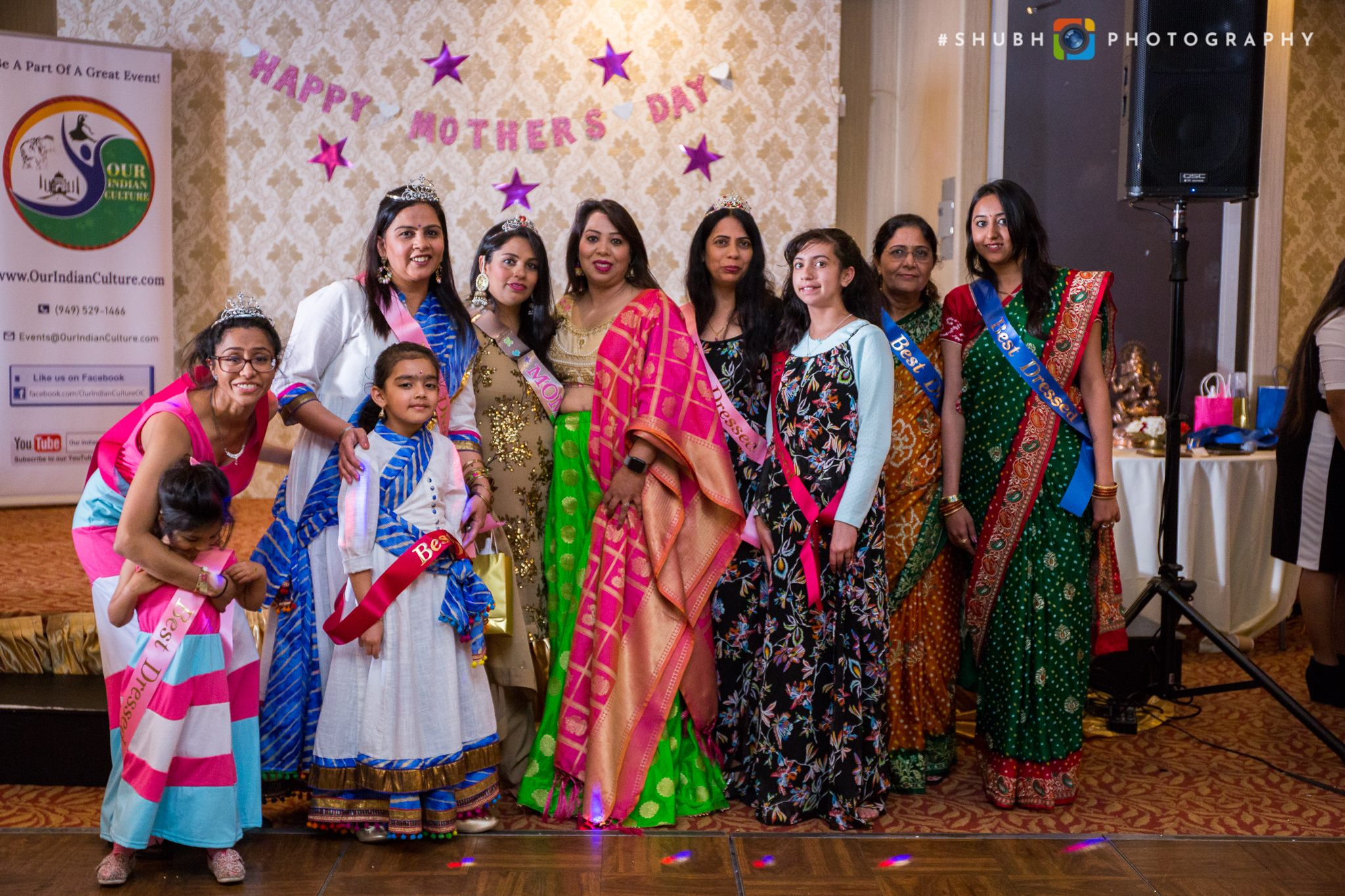 Mother's Day Celebration Event Organized By OurIndianCulture.com at The Yellow Chilli by Master Chef Sanjeev Kapoor, Buena Park, CA, May 2018