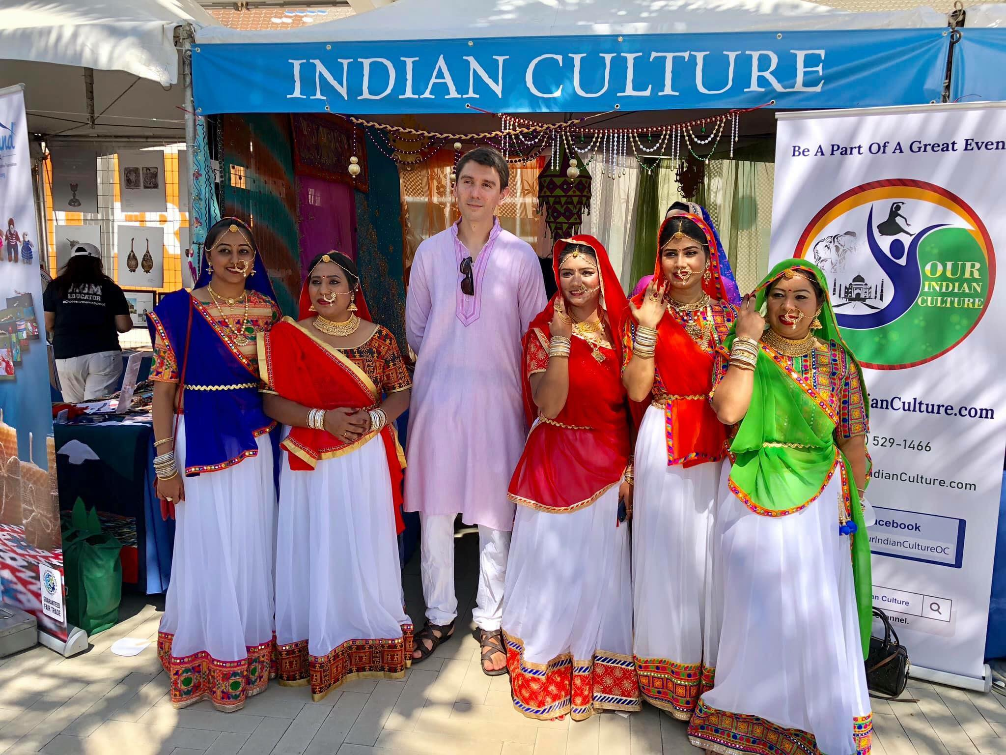 Indian Culture Exhibition at Irvine Global Village Festival 2018