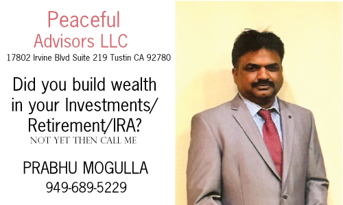 OIC Sponsor Peaceful Advisors LLC