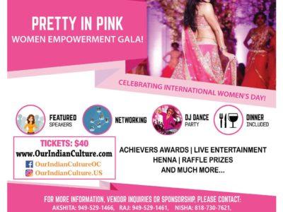 Pretty in Pink Women Empowerment Gala March 10 Anaheim CA USA