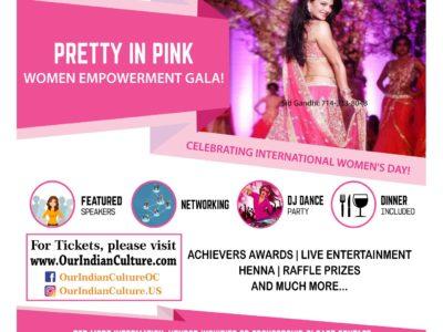 Pretty in Pink Women Empowerment Gala in Anaheim