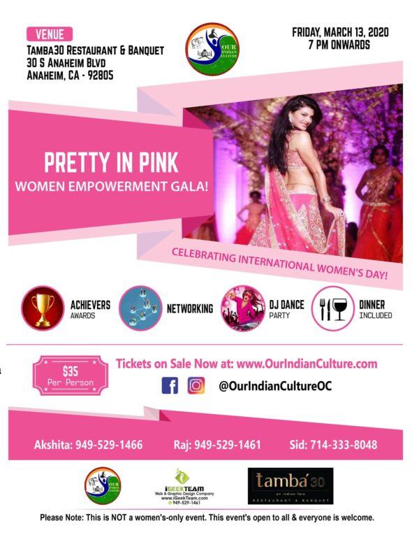 Women Empowerment Gala - Tamba30, Anaheim, CA
