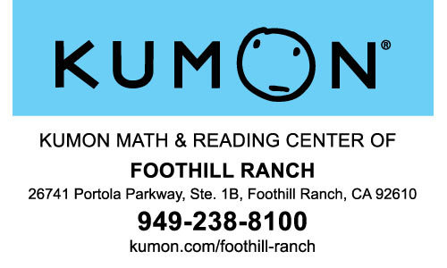 OIC Supporter Kumon Foothill Ranch
