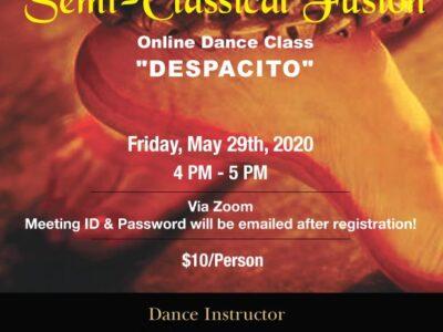 Indian Semi-Classical Online Dance Class