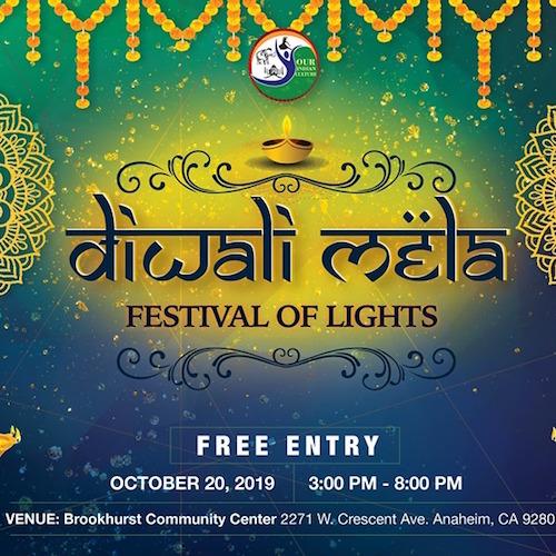 Orange County Diwali Mela Festival of Lights