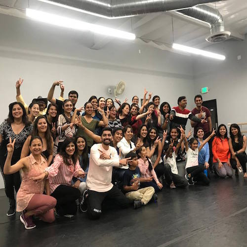 Bollywood Bhangra Dance Workshops in Irvine Tustin Orange County