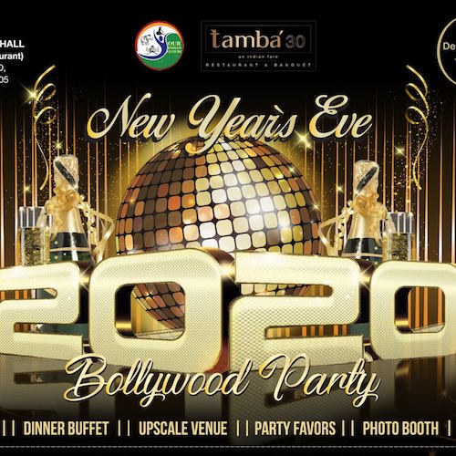 New Years Eve Bollywood Party in Anaheim