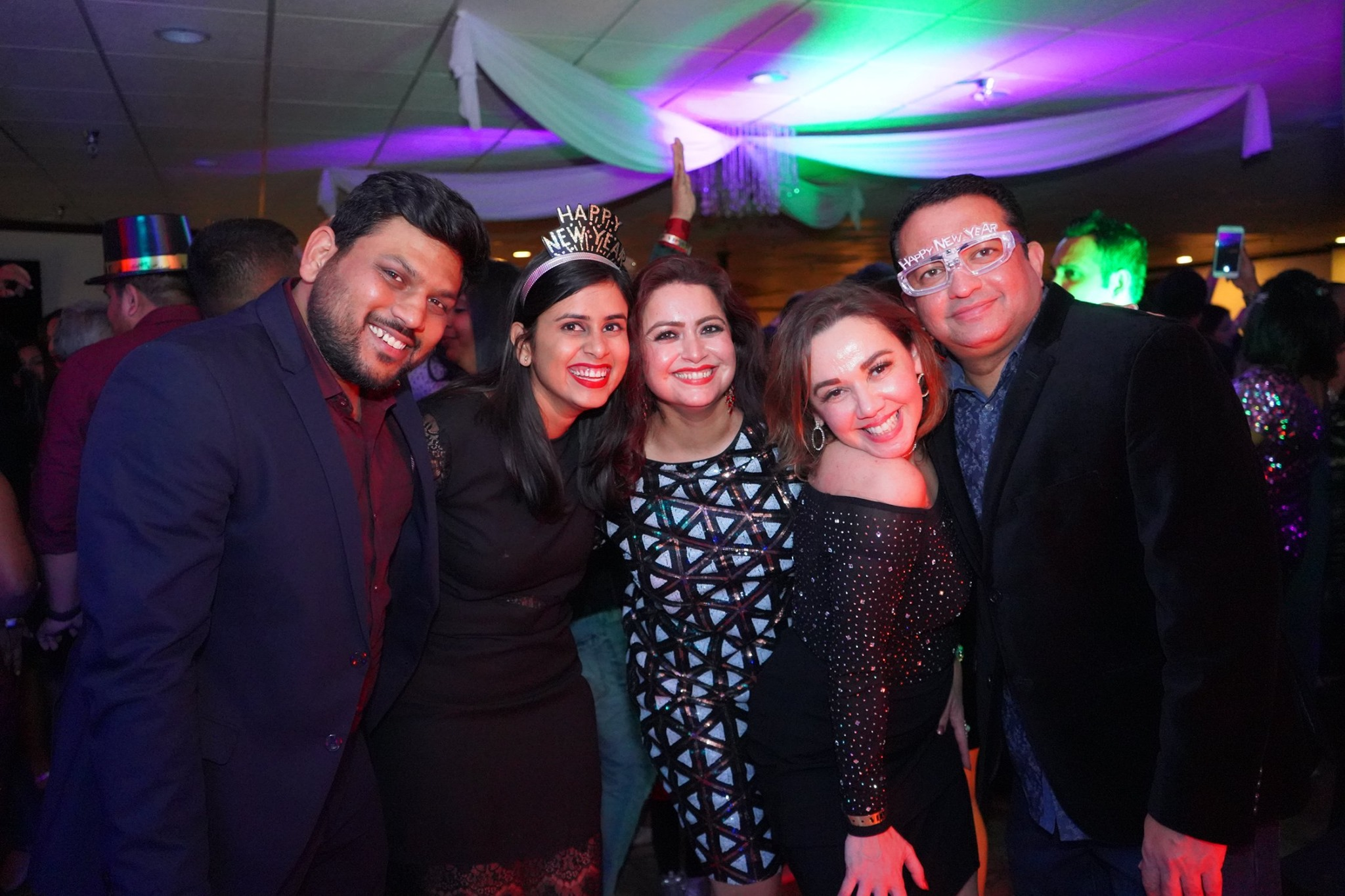 New Year's Eve 2020 Bollywood Party organized by Our Indian Culture in Anaheim CA