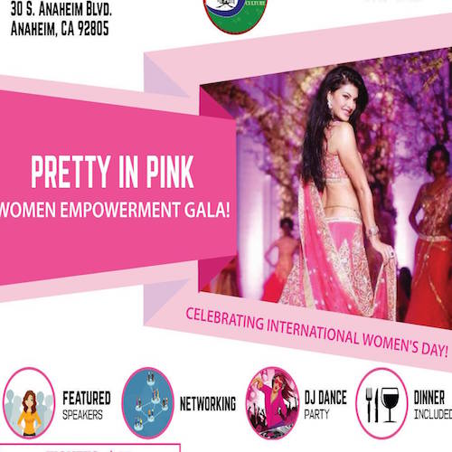 Women Empowerment Gala Celebrating International Womens Day Anaheim Orange County